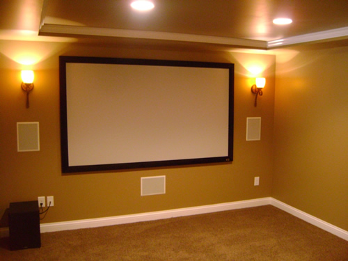 Simple home theater.